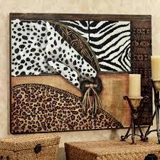 Cheetah Print Home Decor Wall Art Designs Marvelous Natural Animal Print Canvas Wall Art