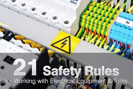 safety rules for working with electrical equipment
