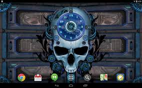 steampunk halloween background steampunk clock free wallpaper android apps on google play