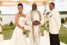 jumping the broom wedding paula patton and laz alonso up for jumping the broom