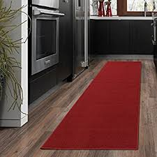 Black Aisle Runner Amazon Com Ottomanson Ottohome Collection Carpet Solid Hallway