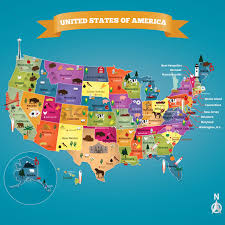 Usa Maps With States by Usa Map With States Imagenes Vectoriales 1532591 Stockunlimited