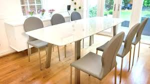 Gloss Dining Tables Dining Tables Extending White Gloss Dining Tables Extending White