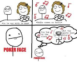 Poker Face Memes - poker face tik tok facebook meme