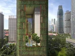 bureau d architecture li鑒e this plant covered singapore skyscraper is the tropical building