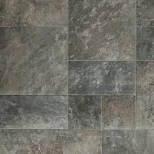 Stone Tile Effect Laminate Flooring 1199 Rhino Classic Cottage Beige Grey Stone Tile Effect Vinyl