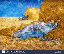 vincent van gogh stock photos vincent van gogh stock images alamy van gogh painting la meridienne the siesta by vincent van gogh 1853