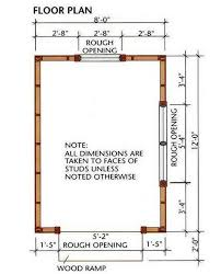 Plans To Build A Wooden Storage Shed by 8 12 Storage Shed Plans U0026 Blueprints For Building A Spacious Gable