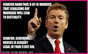 Gay Marriage Meme - political memes rand paul gay marriage meme