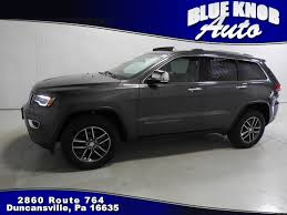 jeep cherokee gray 2017 used 2017 jeep grand cherokee for sale in duncansville pa