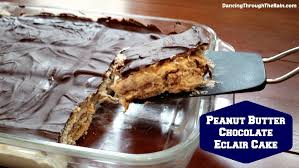 butter chocolate eclair cake