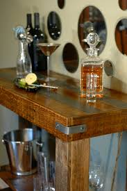 Pallet Furniture Bar Pallet Wood Console Table Sofa Table Rustic And Modern