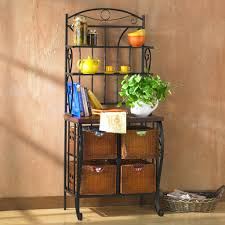 Kitchen Storage Racks by Furniture Awesome Design Ideas Of Kitchen Bakers Racks Vondae