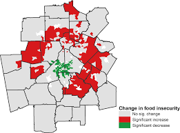 Map The Meal Gap Atlanta Studies Jerry Shannon U2013 Mapping Food Insecurity In Metro