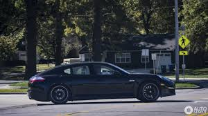 porsche panamera dark blue porsche panamera turbo 31 october 2017 autogespot