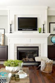 Best  Tv Above Fireplace Ideas On Pinterest Tv Above Mantle - Living rooms with fireplaces design ideas