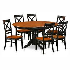 Shop Dining Room Sets by Iconic Furniture Antiqued Panel Back 7 Piece Dining Table Set