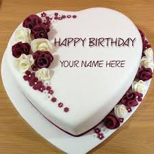 online birthday cake write name on best wishes birthday cake online free