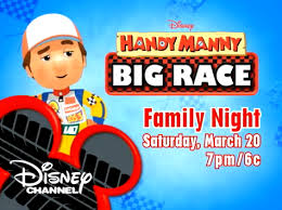 handy manny big race debuts march 20th happy hippy mom