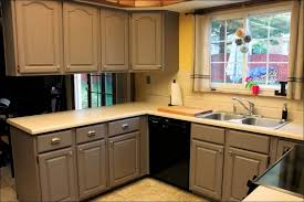 Stain Oak Kitchen Cabinets Kitchen Dark Wood Kitchen Gray Cabinet Paint Grey Kitchen Decor