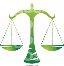 zodiac color royalty free gradient green libra scales zodiac sign logo by