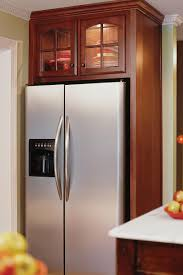 Kitchen Cabinets Refrigerator Surround by Kitchen Cabinets Around Refrigerator Round Designs
