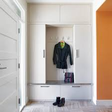 Built In Bench Mudroom Cheap Bedroom Sets Entry Contemporary With Baseboards Built In