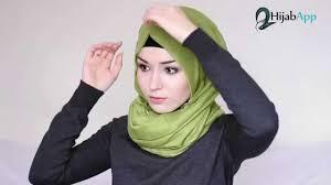 tutorial hijab nabiilabee hijab tutorial elegant throwback hijabapp nabiilabee youtube