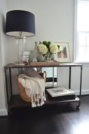 home decorators console table styled console table transitional living room one story building
