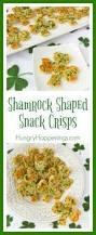 shamrock shaped snack crisps hungry happenings