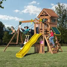 backyard slide sets home outdoor decoration