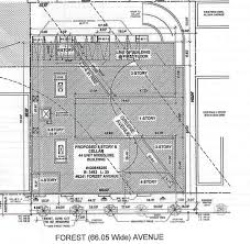 strangely shaped five story mixed use building coming to this lot zones