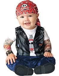 Infant Boy Halloween Costumes Amazon Incharacter Unisex Baby Biker Halloween Costume Clothing