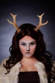 Deer Halloween Costumes Large Cosplay Roe Deer Antlers Gothfoxdesigns Etsy