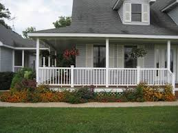 Front Landscaping Ideas by Wonderful Front Porch Landscaping Ideas Afrozep Com Decor