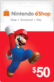 nintendo gift card the cheapest nintendo 50 usd in usa