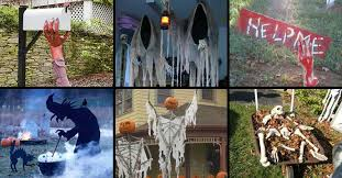 Diy Halloween Yard Decorations 46 Successful Diy Outdoor Halloween Decorating Ideas Nobody Told