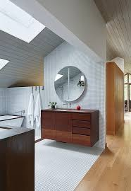 dwell bathroom ideas i the large mirror in this kansas city master bathroom