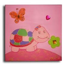 tableau chambre bébé fille peinture chambre bebe fille 7 tableau peinture tableau tortue