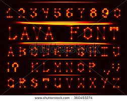 robotic font style metal letters stock vector 360493274