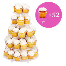 5 tier cupcake stand jusalpha large 5 tier acrylic wedding cake