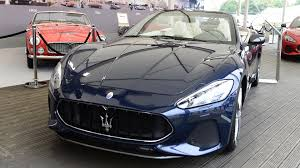 maserati granturismo convertible red interior 2018 maserati granturismo convertible debuts at goodwood