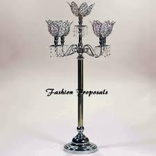 wedding candelabra wedding acrylic magnolia flower candelabra 5 arms with