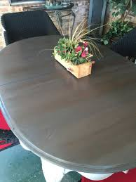 pre turned table legs patio table top minwax pre stain conditioner followed by layering