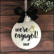 engaged ornament engagement ornament