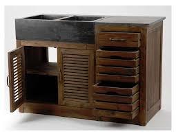 meuble de cuisine en bois pas cher meuble cuisine avec evier pas cher wasuk