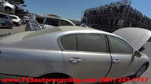 2006 lexus gs300 tires size parting out 2006 lexus gs 300 stock 6265pr tls auto recycling