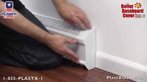 the better baseboard cover youtube