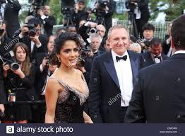 actress salma hayek husband francois henri pinault arrive