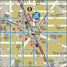 dc metro rail map dupont circle metro station
